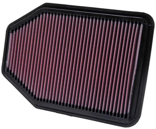 K&N Filters 33-2364 Air Filter Fits 07-18 Wrangler (JK)