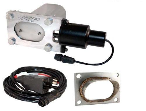 "QTP QTEC33K1 2.5""-3"" Oval Low Profile Electric Cutout/Turn Down"