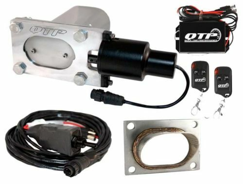 QTP QTEC33K2 Oval Low Profile Electric Cutout/Turn Down/Wireless Remotes