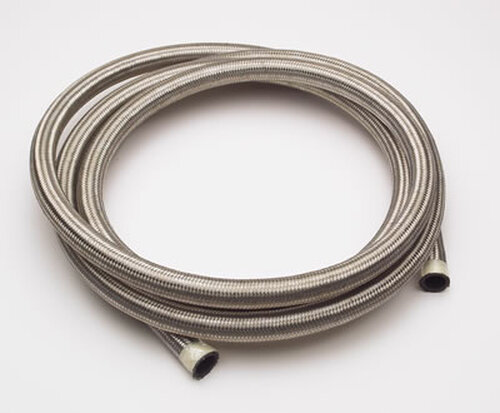 XRP 301506 Stainless Steel Braided AN Hose - #6 - 15 Foot Section
