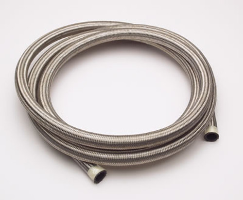 XRP 302008 Stainless Steel Braided AN Hose - #8 - 20 Foot Section
