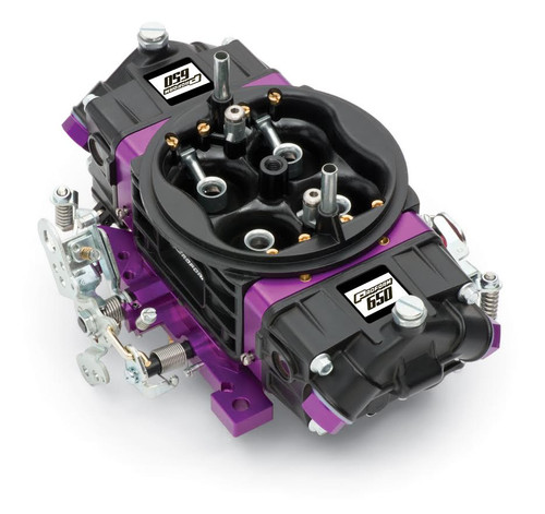 Proform 67302 Black Race Series 750 CFM Mechanical Secondary Carburetor Aluminum