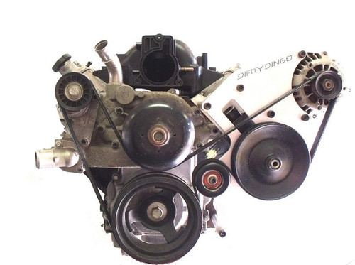 Dirty Dingo Billet Alternator & Power Steering Bracket for GM LSx Truck Engines