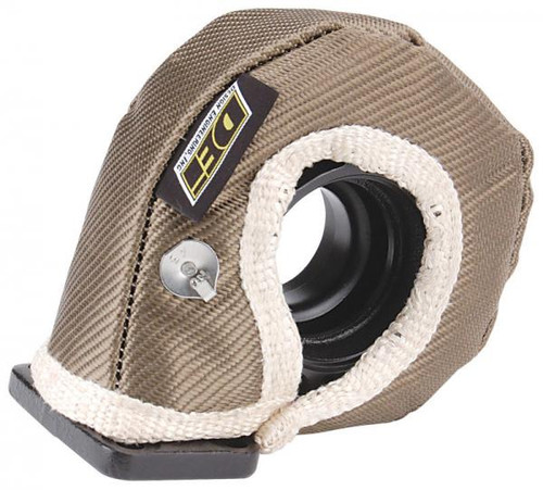 DEI 010140 T3 Size Titanium Turbo Heat Shield ONLY - Reduce Heat & Turbo Lag