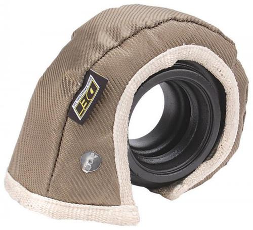 DEI 010144 T4 Size Titanium Turbo Heat Shield ONLY - Reduce Heat & Turbo Lag