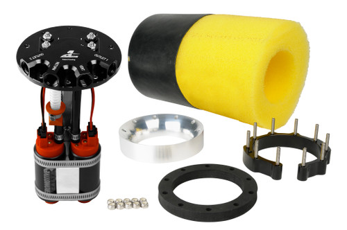 Aeromotive 18309 Phantom Dual 340 Stealth In Tank Fuel Pump System Up to 2000hp