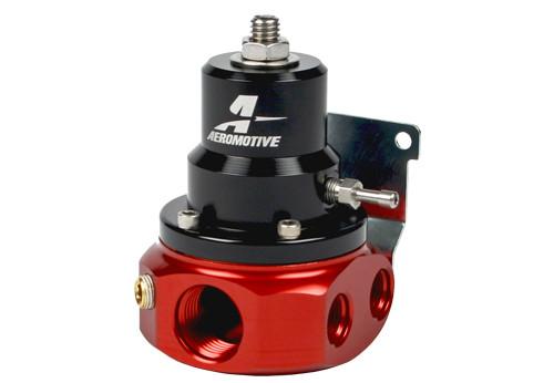 Aeromotive 13224 4-Port A1000 Adjustable Carb Bypass Fuel Pressure Regulator