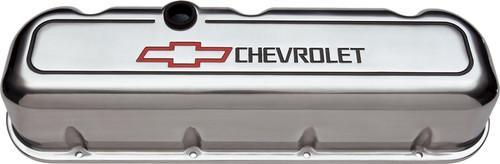 Proform 141-142 Big Block Chevy Aluminum Tall Polished Valve Covers - Pair