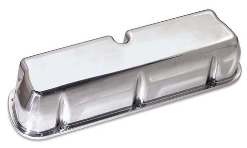 Moroso 68450 Polished Tall Aluminum Valve Covers - Small Block Ford - No Logo
