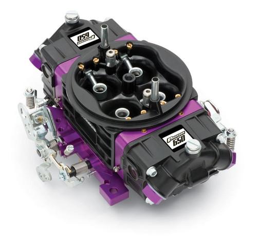Proform 67301 Black Race Series 650 CFM Mechanical Secondary Carburetor Aluminum