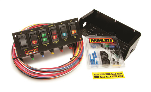 Painless Wiring 50302 6-Switch Fused Panel