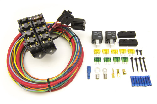 Painless Wiring 70118 7-Circuit Heavy Duty Auxiliary Fuse Block