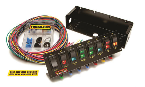 Painless Wiring 50303 8-Switch Fused Panel