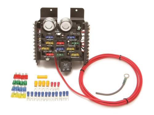 Painless Wiring 50101 Race/Pro Street 16 Circuit Fuse Block