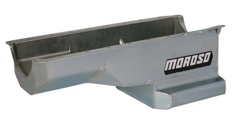 """Moroso 20411 Street/Strip Oil Pan - Gen 5/6 Big Block Chevy - 6 Qt 8"""" GM A-Body"""