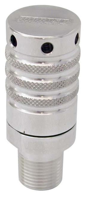 """Moroso 22636 Billet Aluminum Vacuum Relief Valve - 3/8"""" NPT - Shim-able"""