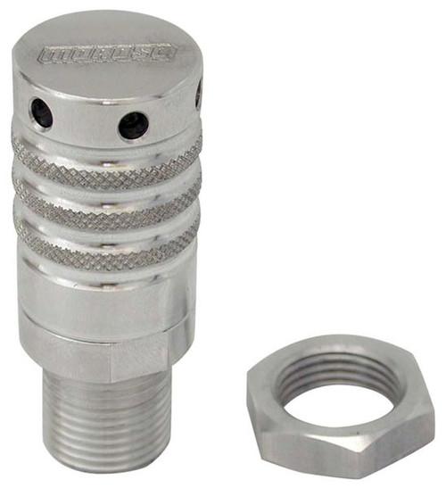 """Moroso 22637 Billet Aluminum Vacuum Relief Valve - 3/4-16"""" - Shim-able"""