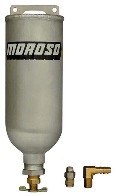 Moroso 63660 Universal Radiator Recovery Tank - Aluminum - 1 Quart