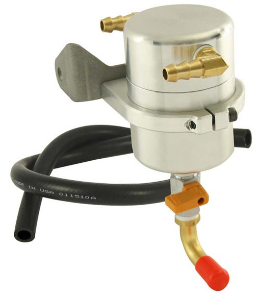 Moroso 85472 Air-Oil Separator/Catch Can Aluminum - 2005-2013 5.7/6.1 Hemi Cars