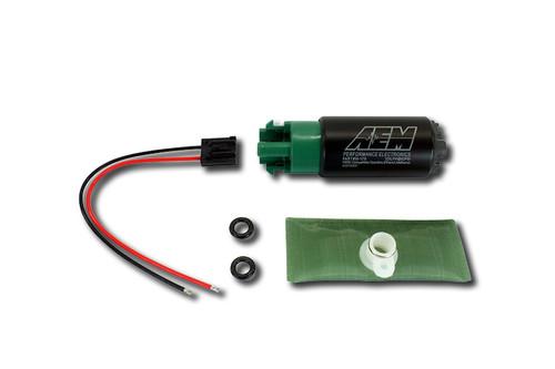 AEM Electronics 50-1200 320LPH Hi Flow In-Tank Fuel Pump Offset Inlet E85/Meth