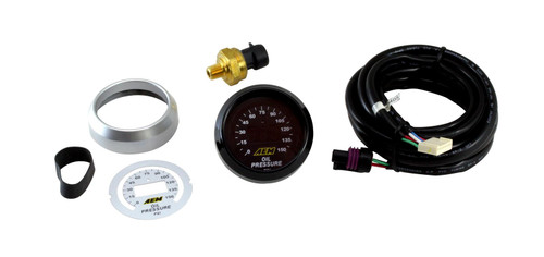 "AEM Electronics 30-4407 Digital Oil Pressure Gauge- 0-150psi  2-1/16"" 52mm"