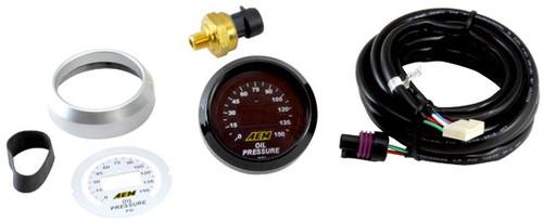 "AEM Electronics 30-4401 Digital Oil/Fuel Pressure Gauge- 0-100psi  2-1/16"" 52mm"