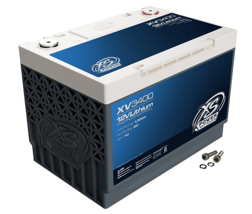 XS Power XV3400 12V Group 34 Lithium Titanate Battery / 1000 CA Lead Equivalent