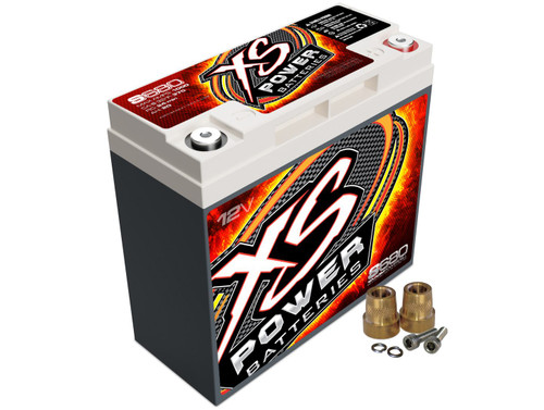 XS Power S680 12V AGM Starting Battery, Max Amps 1,000A CA: 370A