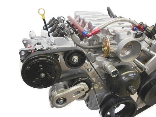 Dirty Dingo Billet AC Bracket for 99-Up Vortec Truck Engines with Sanden 508