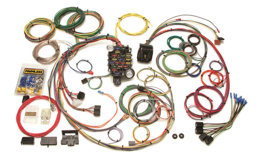Painless Wiring 20102 25 Circuit Classic-Plus Customizable Chassis Harness