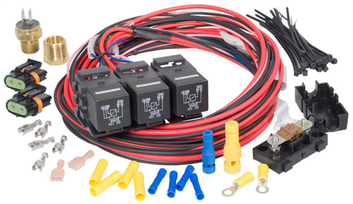 Painless Wiring 30116 Dual Activation Fan Relay