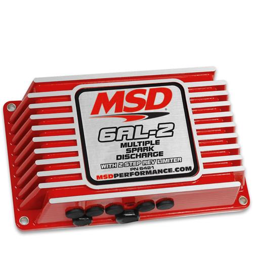 MSD Ignition 6421 6AL-2 Series Multiple Spark Ignition Controller