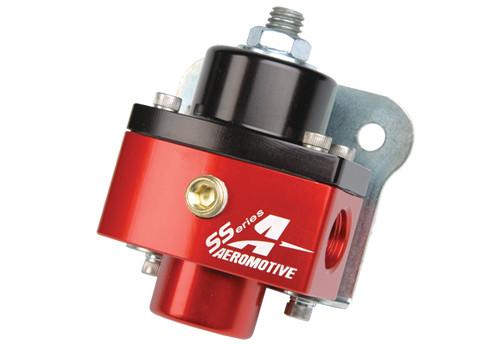 Aeromotive 13201 Compact Billet Adjustable Carbureted Fuel Pressure Regulator