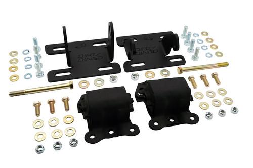 Dirty Dingo 4WD S10 LS1 Adjustable Engine Swap Motor Mounts LS Engines 82-04