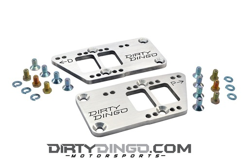 Dirty Dingo Aluminum Motor Mount Adapters - Chevy Motor Mounts to LS Engines