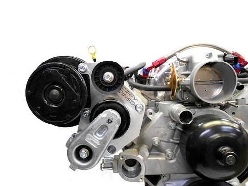 Dirty Dingo Billet AC Bracket for 1999-Up Vortec Truck Engines w/ R4 Compressor