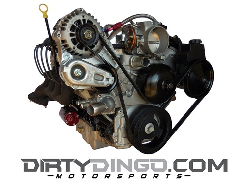Dirty Dingo Billet Alternator Bracket Passenger Side 1998-02 Camaro/Firebird LS1