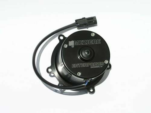 Meziere Enterprises WP118HD Electric Water Pump GM LT1/LT4 Engines Black - 55GPM