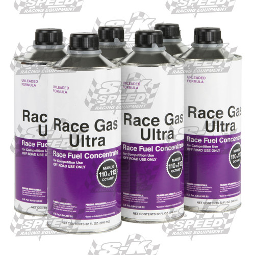 Race Gas Ultra 200032 Race Gas Concentrate Up to 112 Octane (6) Cans