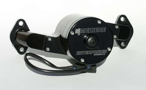 Meziere Enterprises WP100S Big Block Chevy Electric Water Pump - Black - 35GPM