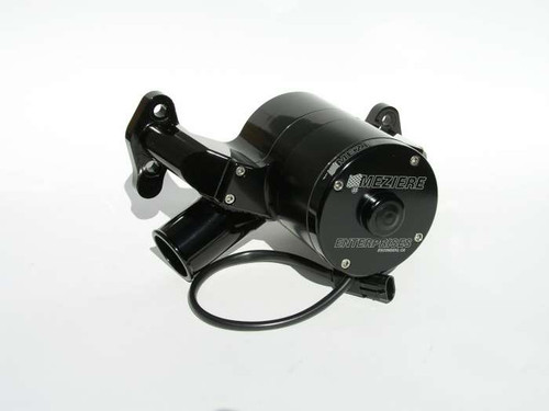 Meziere Enterprises WP301S Small Block Chevy Electric Water Pump - Black - 55GPM