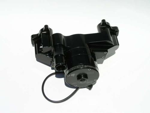 Meziere Enterprises WP119S Electric Water Pump - GM LS Engines Race Black 35GPM