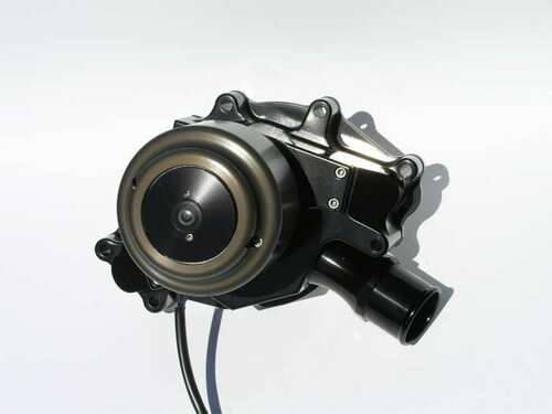 Meziere WP312S Ford 302(5.0L)/351W Electric Water Pump w/ Idler Pulley - Black
