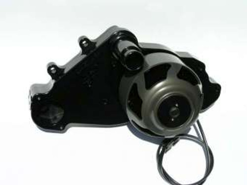 Meziere WP319S Electric Water Pump - LS Engines 55GPM - Black - W/ Idler Pulley