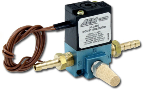 AEM 30-2400 Electronic Boost Control Solenoid - Single Stage - 0-100psi