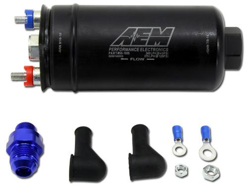 AEM Electronics 50-1005 380LPH Hi Flow 044 Style Fuel Pump 10AN Inlet/6AN Out