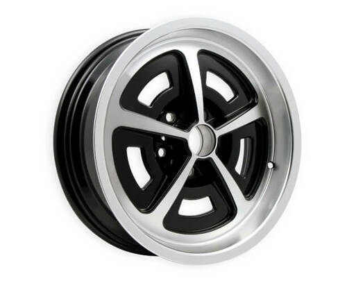 "HK Wheels MW1765475 Magnum 17""X6"", 3.75"" Back Space, 5X4.75 Bolt Pattern"