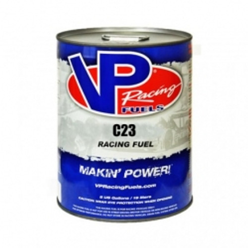 VP Racing Fuel C23 120 Motor Octane For High Nitrous Engines 5 Gallon Pail Leaded