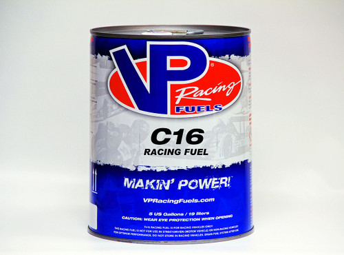 VP Racing Fuel C16 117 Motor Octane For Boost/Nitrous Engines 5 Gallon Pail Leaded