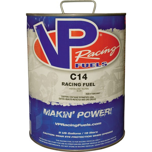 VP Racing Fuel - C14 114 Motor Octane Leaded N/A High RPM Engines  5 Gallon Pail